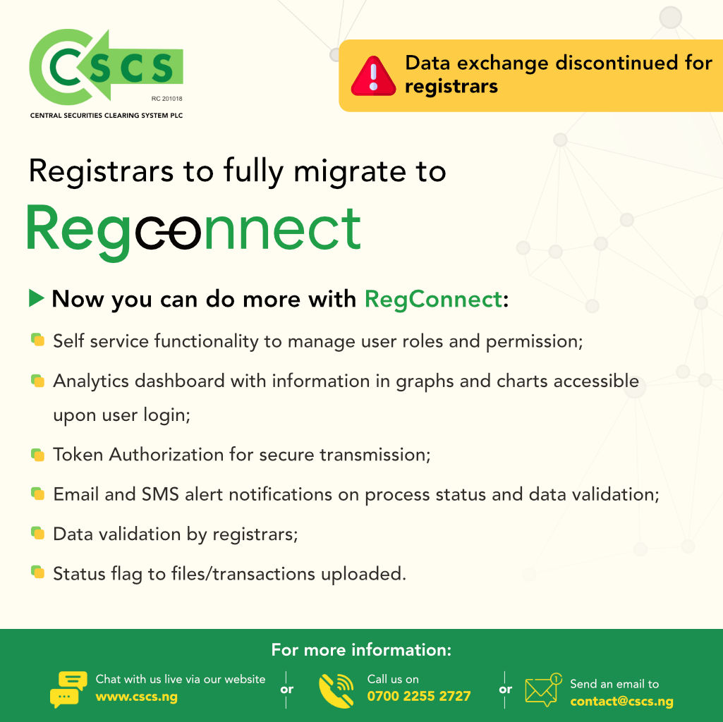 Registrars to fully migrate to Regconnect
